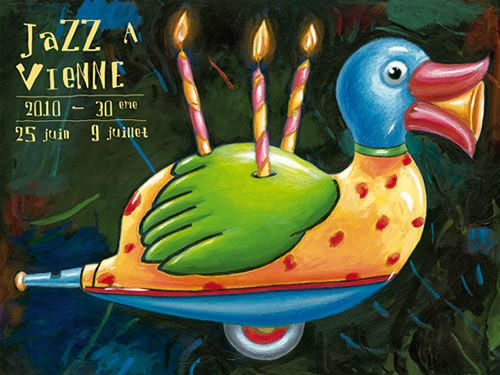 jazz-a-vienne affiche bruno-thery