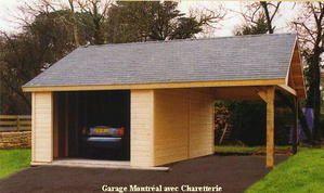 Garage Ou Carport En Bois
