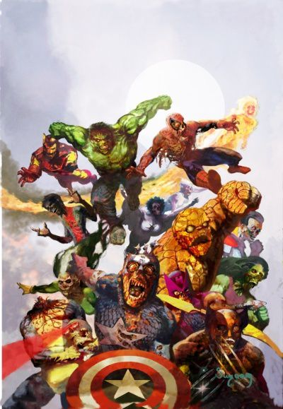 Marvel zombies collection 100 marvel