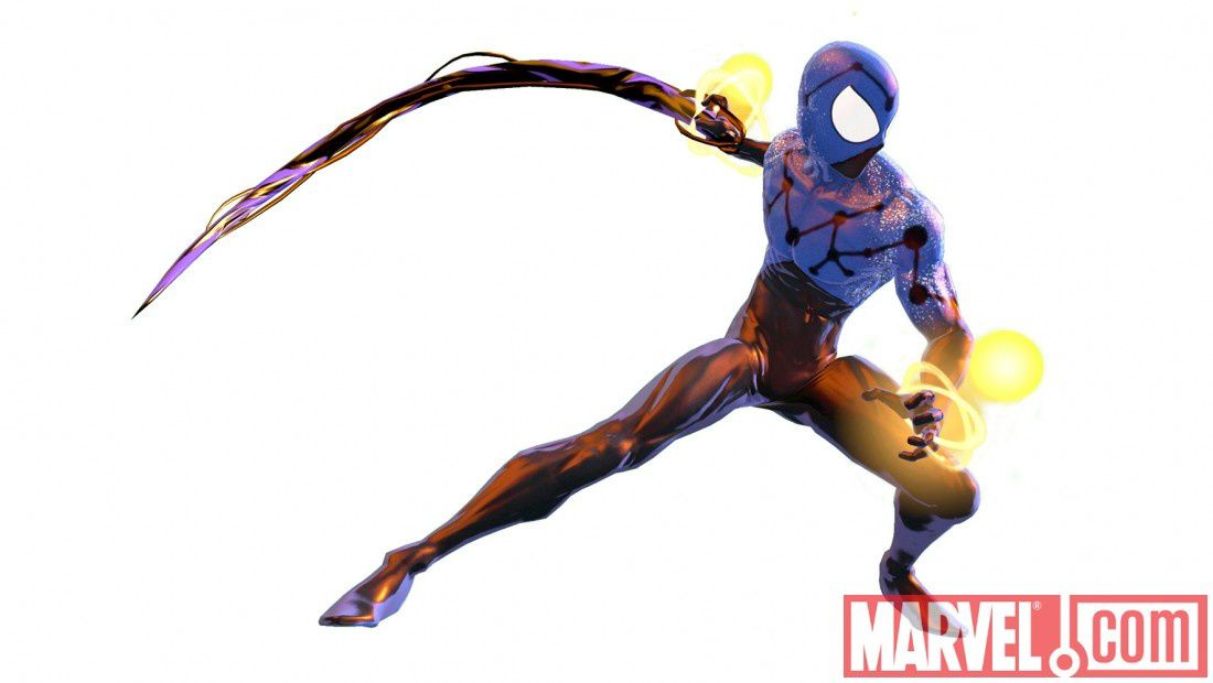 Spider-Man Shattered Dimensions : Costumes Alternatifs - The Grey ... Ultimate Spider Man Peter Parker Costume