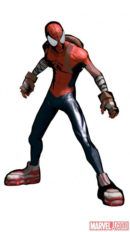 spiderman shattered dimensions costumes alternatifs