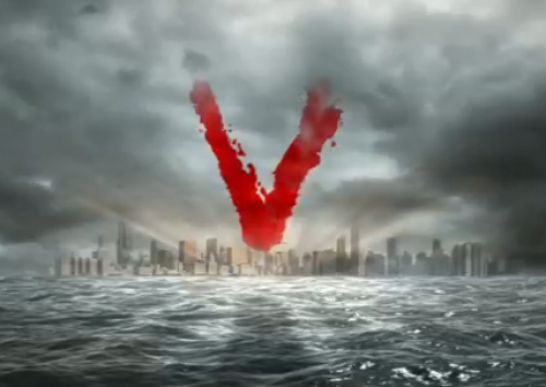 V-2009 TV series logo