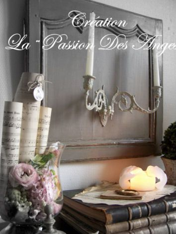 apr s la grisaille de ces derniers temps cr ation la passion des anges. Black Bedroom Furniture Sets. Home Design Ideas