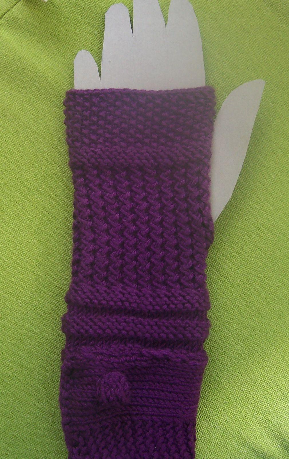 comment faire des gants au tricot