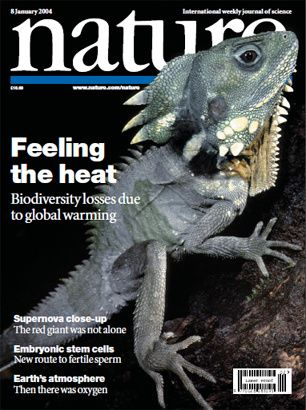 feeling the heat nature cover