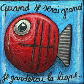 des poissons pour les petits pois sont rouges 015