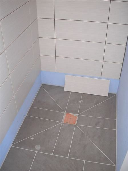 Poser du carrelage douche italienne for Poser carrelage douche
