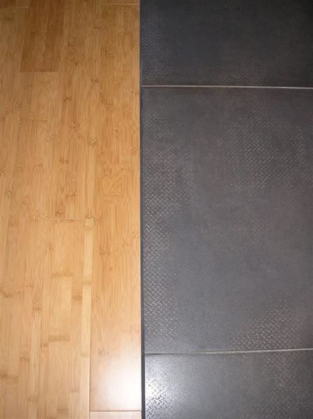 Joint entre carrelage et parquet id es for Joint de carrelage