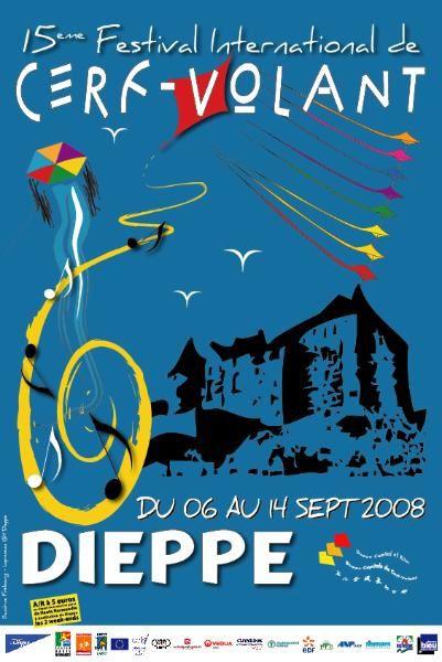 30b9486fdd51db 15ème festival du cerf-volant à Dieppe