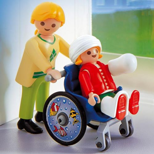 playmobil-fauteuil roulant