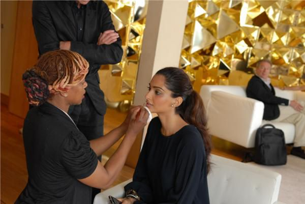 Sonam Kapoor's backstage pictures from Cannes 1
