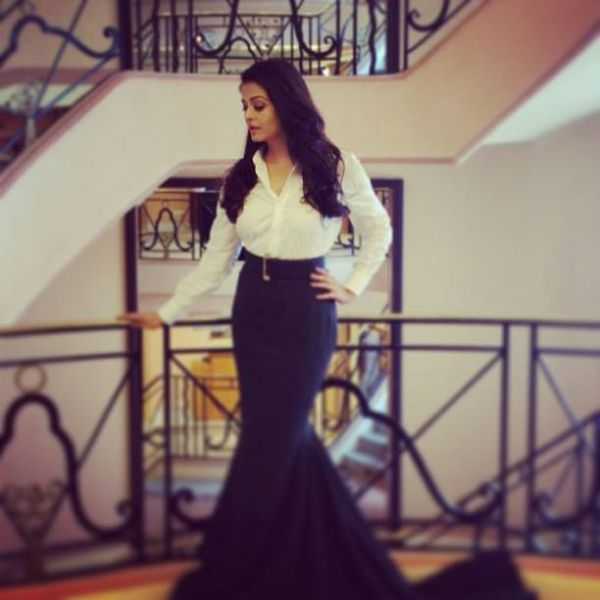 Aishwarya Rai - Cannes 2013 - Yves Saint Laurent