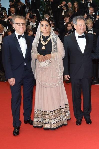 Vidya Balan on red Carpet - Gatsby premiere - Cannes 2013