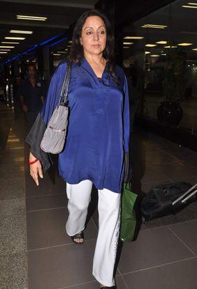 & nos stars de Bollywood sont de retour à Mumbai.4