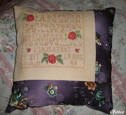 coussin russe