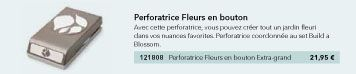 perforatrice Fleurs en bouton p18 mini catalogue