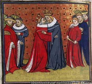 Edouard 1er hommage à Philippe le Bel