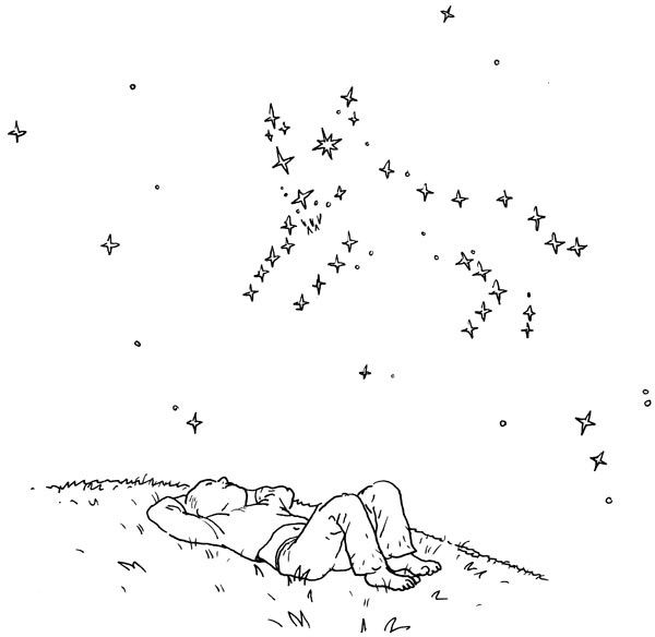dessin constellation
