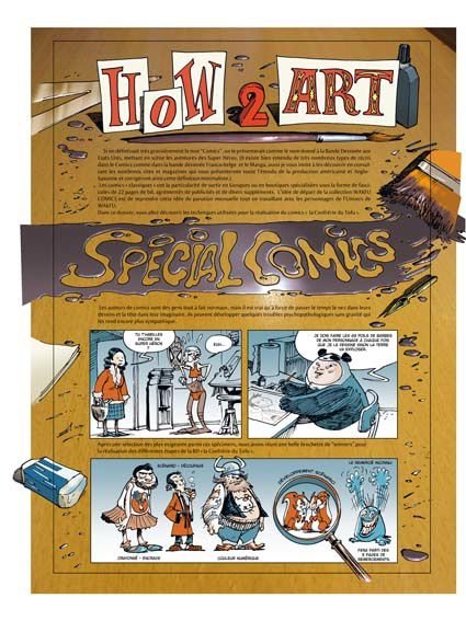 HOW TO ART Special Comics