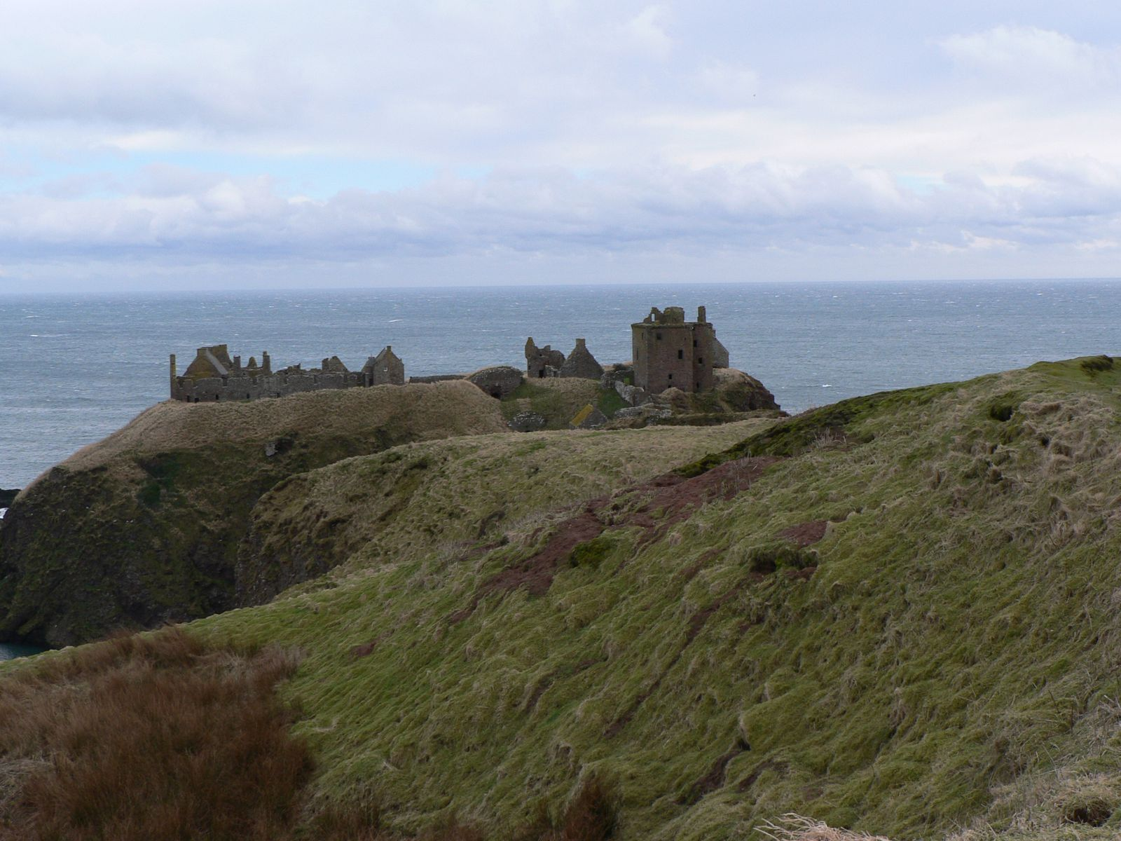 Dunnottar Castle - West coast of Scotland