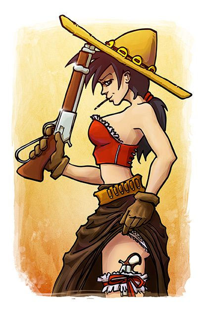 pin up western