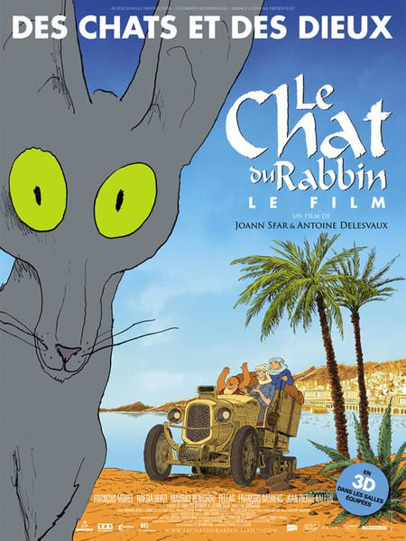 Affiche-du-film-Le-Chat-du-Rabbin reference