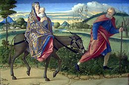 260px-The Le fuite en Egypt-1500 Vittore Carpaccio