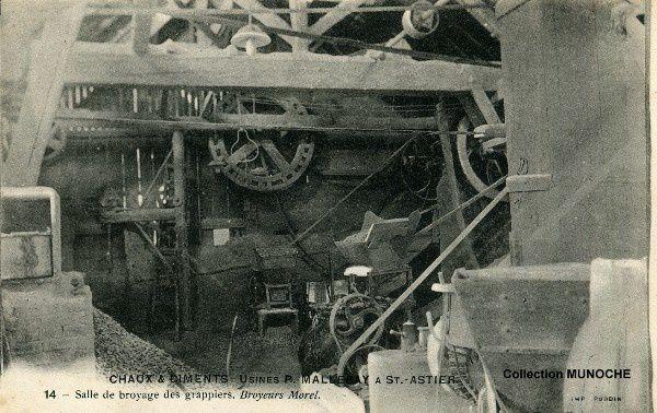 Canton de saint astier cartes postales anciennes du perigord dordogne - Chaux de saint astier ...