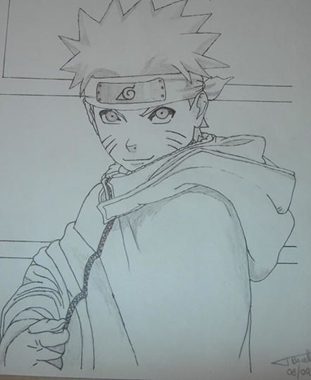 Pin personnages naruto on pinterest - Dessin manga naruto ...