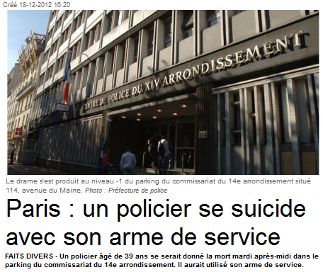 suicide paris