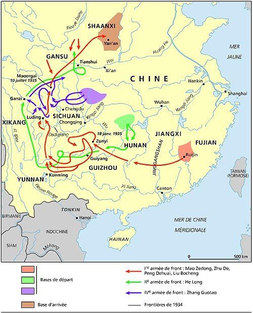 Chine-Longue Marche