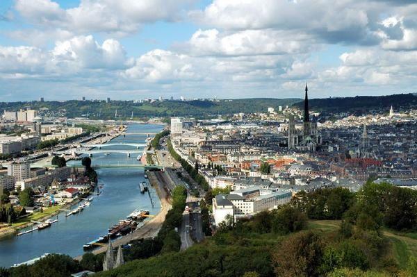 ville Rouen paysage