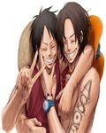 Luffy to Ace Happyness