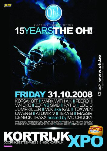 VA The Oh 15 Years CD 2008 KTMP3 preview 0