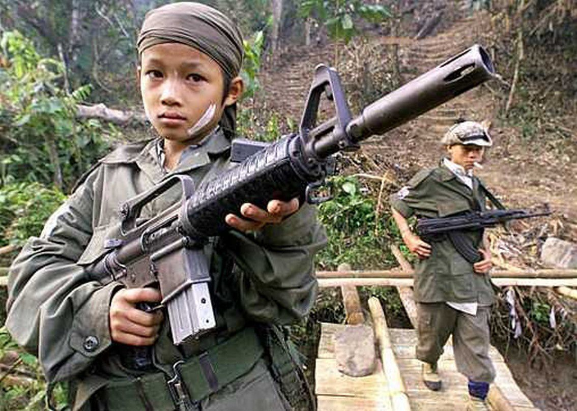 fight for the right child soldiers 8 countries where children are still forced to fight wars by ishaan tharoor by ishaan tharoor email the author november 13 the presence of child soldiers in the ranks of both the national army as well as a constellation of ethnic militias in various parts of the country.