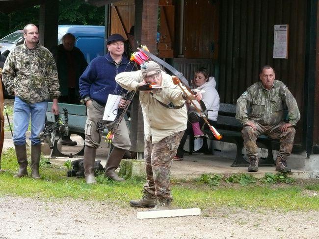 Photos de l'Assemblée générale du 7 juin 2009 des chasseurs à l'arc de Franche-Comté