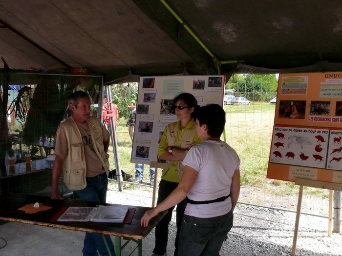 La 3ème fête de la chasse de colombier Fontaine du 28 juin 2009.