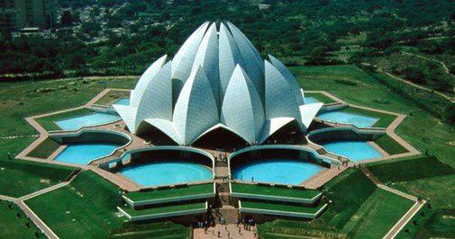 Temple du Lotus à New Delhi- Bahá'í House of Worship