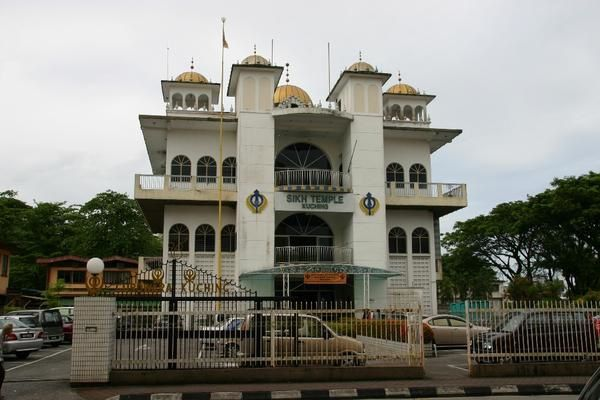 Photo : Malaisie : Kuching : Temple Sikh