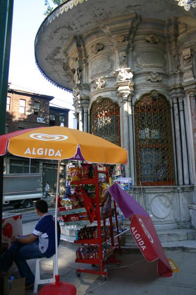 Photo : Turquie : Istanbul : marchand de glaces