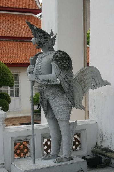 Bangkok, statues inquiétantes
