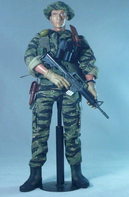U S GREEN BERETS 5th - VIETNAM 1/6 Custom - Forces of valor
