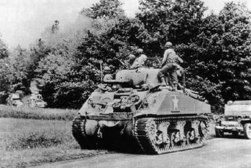 Great Britain also used the Sherman during the latter half of World War II,