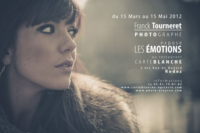 Franck Tourneret Photographe expose Les Emotions