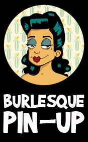 Banniere Burlesque Pin up