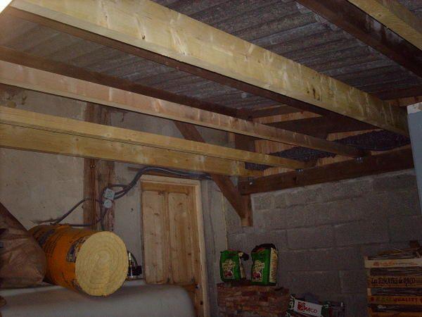 Faux plafond renovation maison normande for Faire faux plafond garage