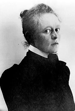 Helene Schjerfbeck by Uusi Suomi