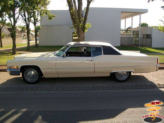 1 Cadillac Coupe DeVille 1970