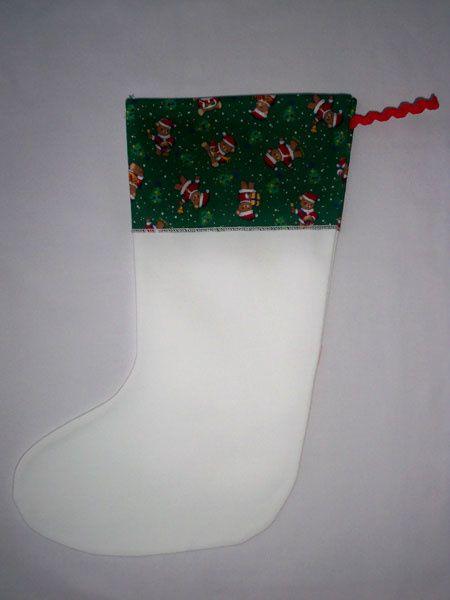 Déco de Noël essentiellement à base de tissu !!!