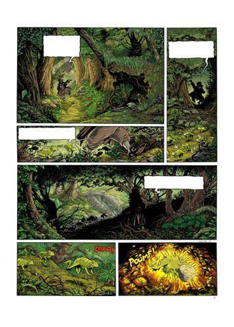 dessin: Ludo souillard, Contes de Broceliande tome 2